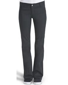 Dickie's Girl Women's Bootcut Work Pants, Navy, hi-res