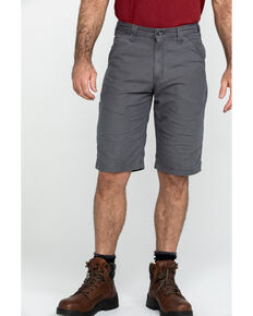 "Carhartt Men's Rugged Flex 13"" Rigby Work Shorts , Grey, hi-res"