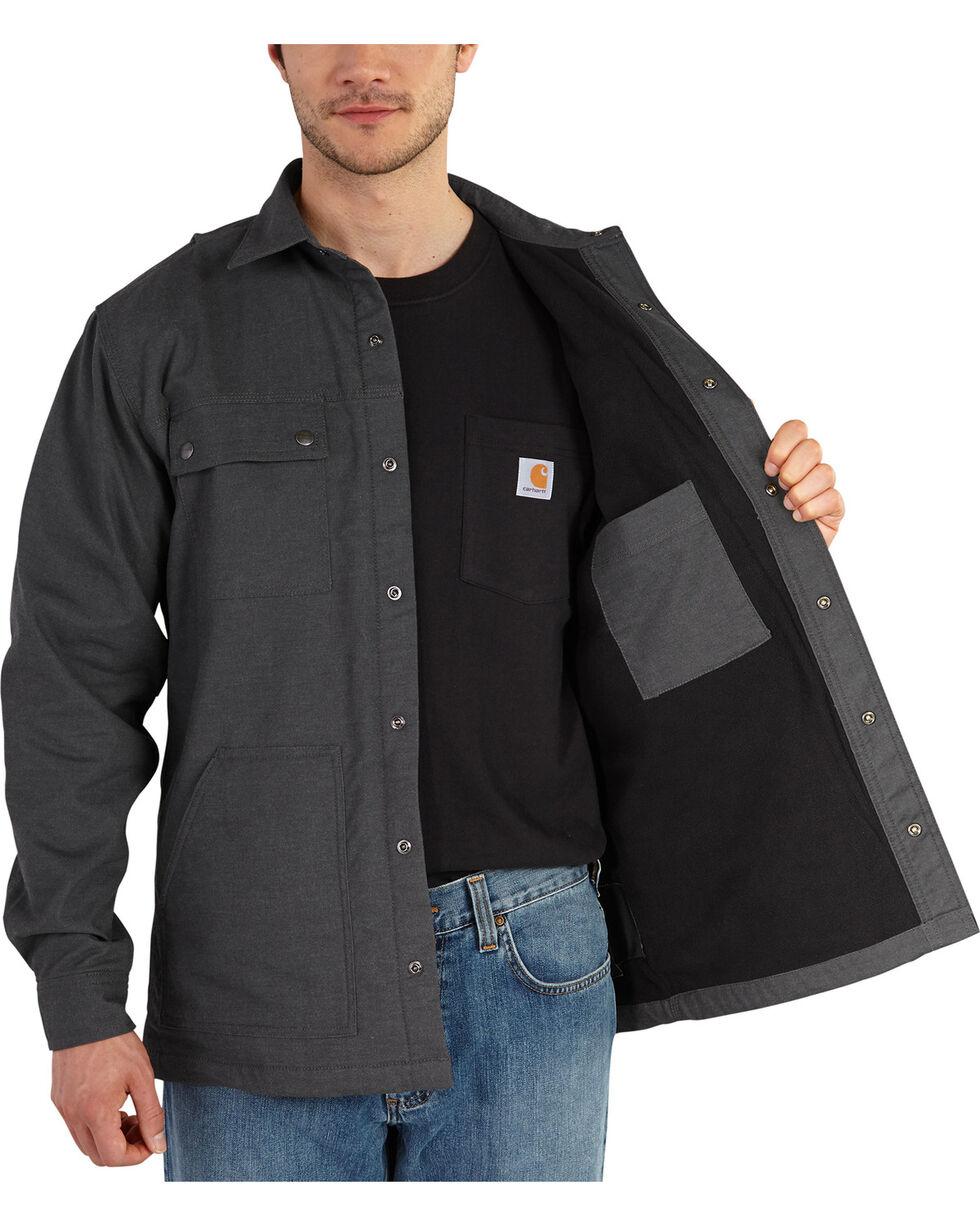 Carhartt Men's Full Swing Overland Shirt Jacket, Shadow Black, hi-res