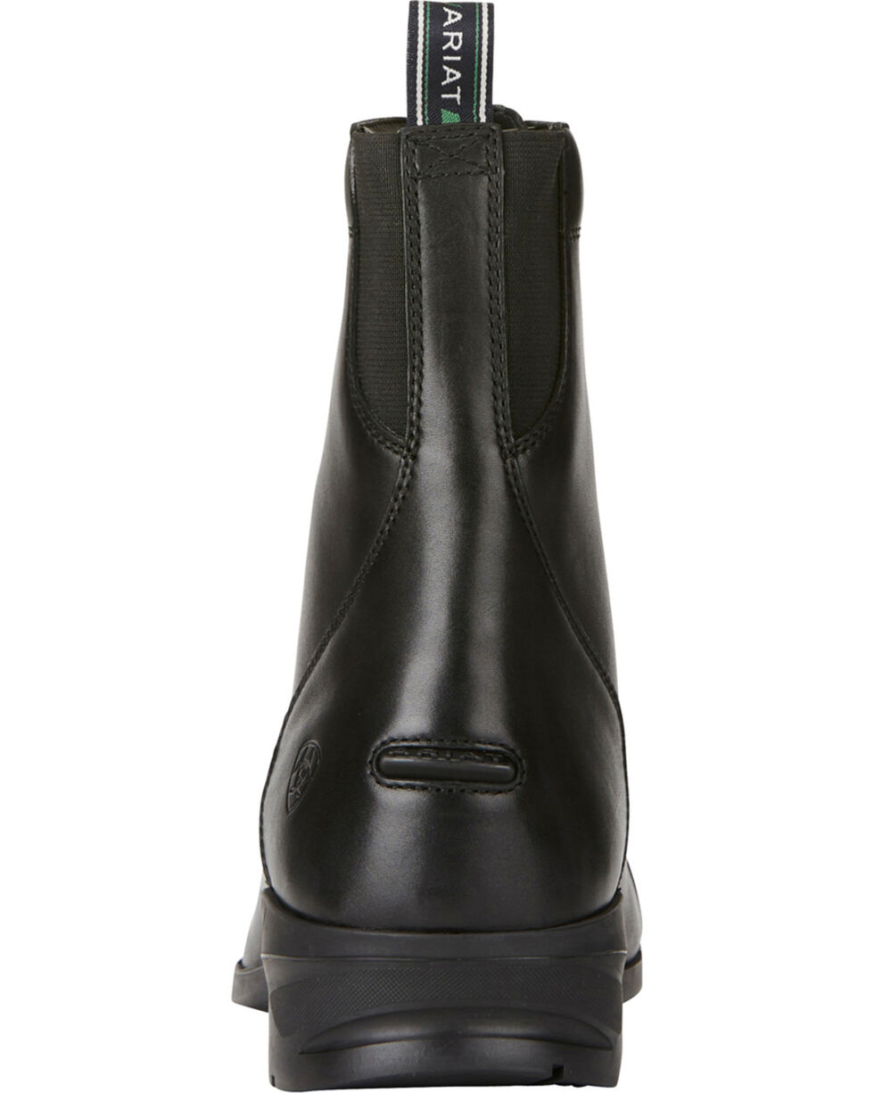 Ariat Men's Heritage IV Lace Up Paddock Boots - Round Toe, Black, hi-res