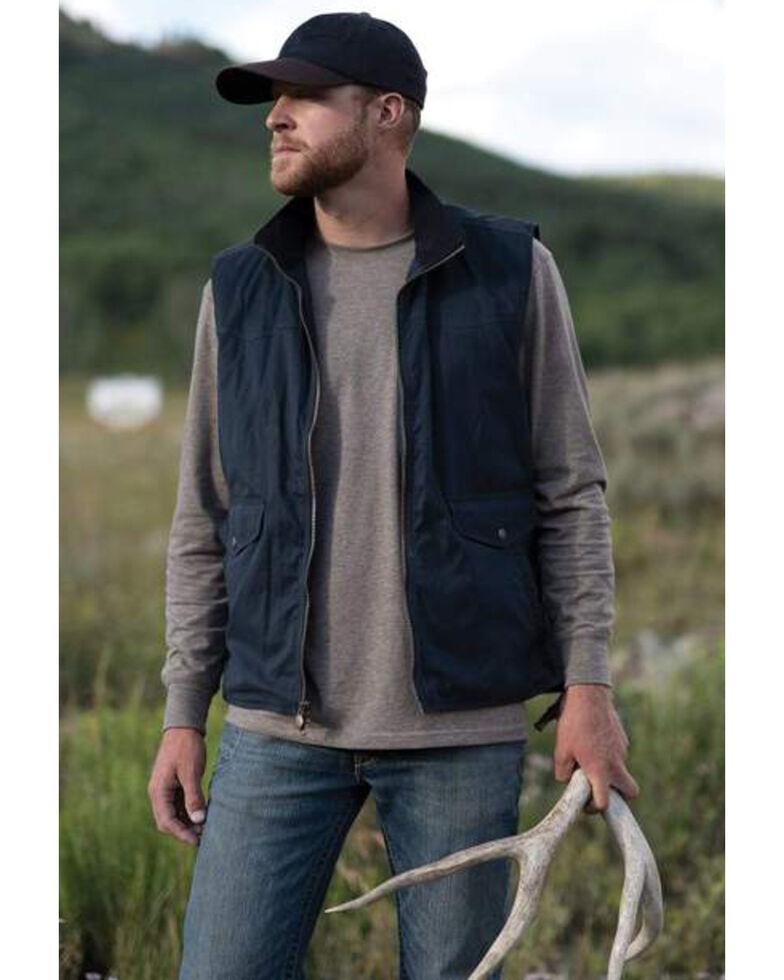 Outback Trading Co. Men's Navy Rodman Vest , Navy, hi-res