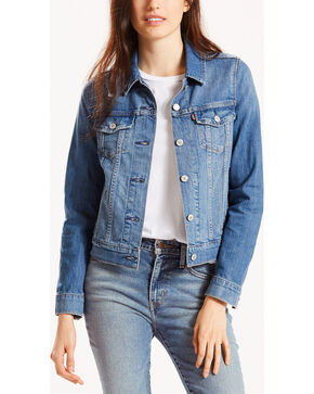 Levi's Women's Vintage Reserve Denim Jacket, Blue, hi-res