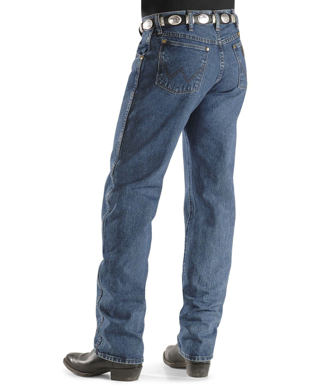 Wrangler Men/'s 47Mwz Premium Performance Cowboy Cut Regular Fit Prewashed Jeans
