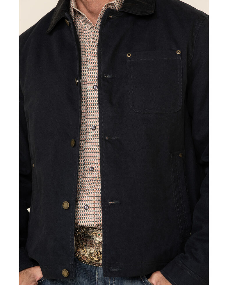 Pendleton Men's Alameda Button Front Corduroy Trucker Jacket , Navy, hi-res