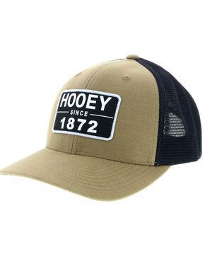 HOOey Men's Moab Snapback Mesh Trucker Cap, Tan, hi-res