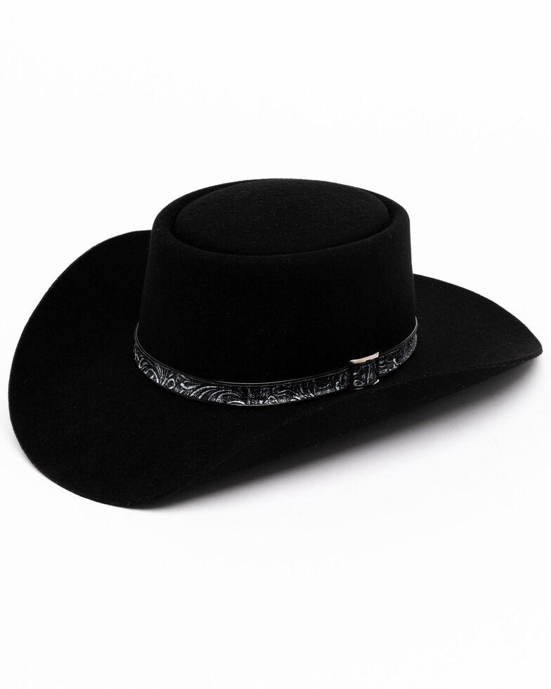 Stetson Men's Black Revenger Western Hat, Black, hi-res