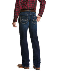 Ariat Men's Salton Stillwell Relaxed Boot Cut Jeans, Blue, hi-res
