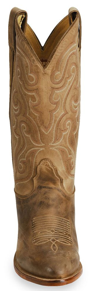 Nocona Men's Legacy Series Vintage Cowboy Boots - Medium Toe, Tan, hi-res