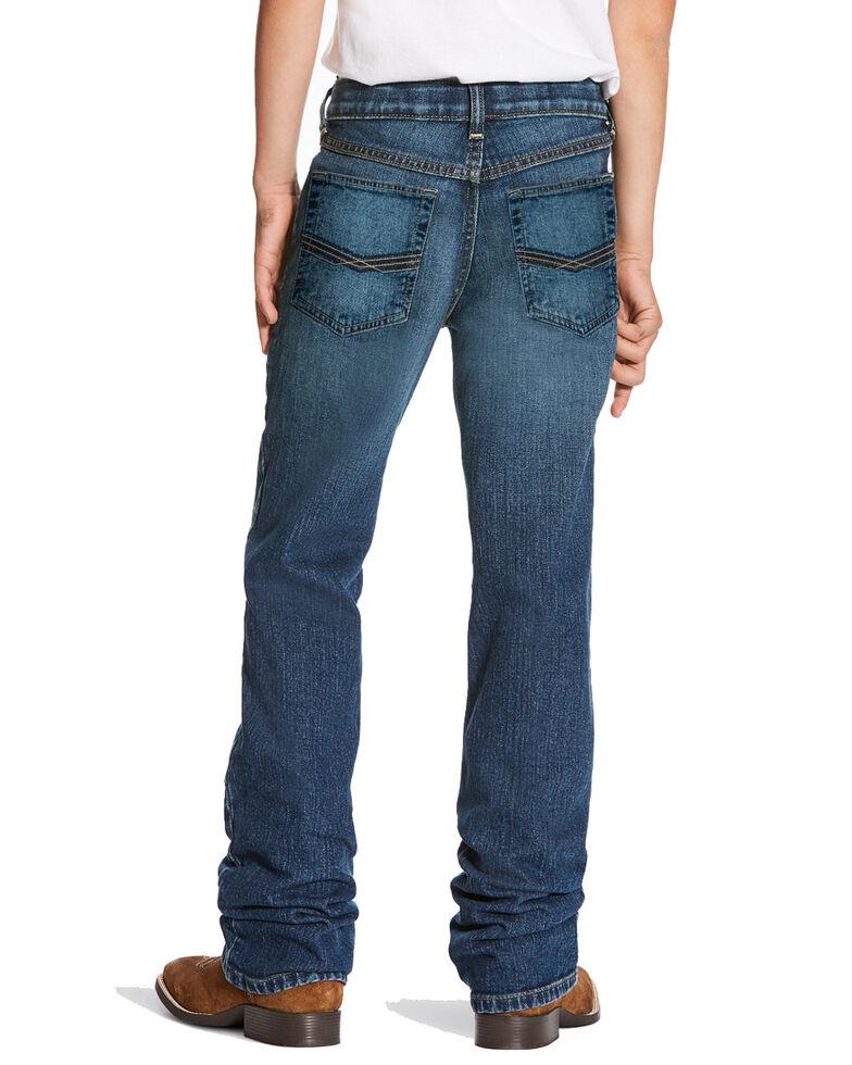 Ariat Boys' B5 Marshall Stretch Slim Straight Jeans , Medium Blue, hi-res