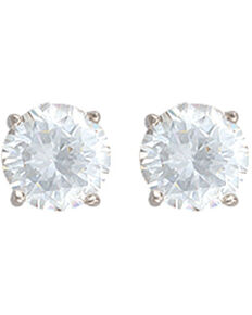 Montana Silversmiths Star Lights First Star I See Tonight Earrings , Silver, hi-res