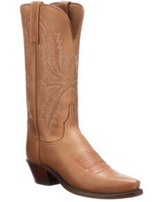 Lucchese Women's Savannah Western Boots - Snip Toe, Rust Copper, hi-res