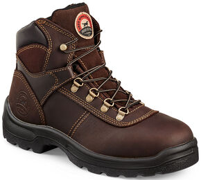 Irish Setter by Red Wing Shoes Men's Ely EH Work Boots - Steel Toe , Brown, hi-res