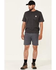 Wrangler ATG Men's All-Terrain Charcoal Reinforced Utility Shorts , Charcoal, hi-res