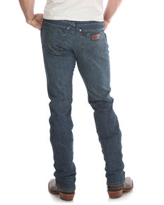 Wrangler Retro Men's Portland Dark Slim Straight Jeans , Blue, hi-res
