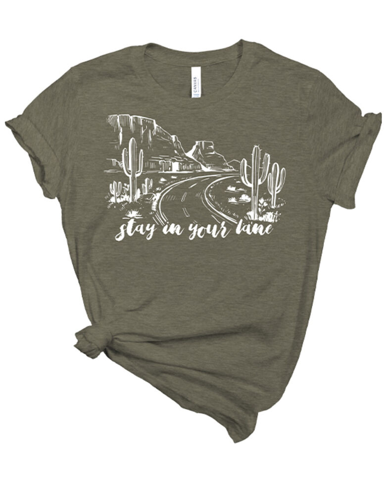 Ranch Dress'n Women's Stay In Your Lane Graphic Tee , , hi-res