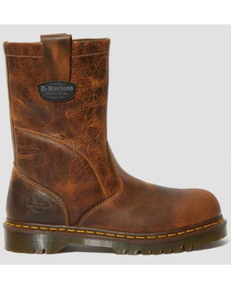Dr. Martens Men's Icon 2295 Western Work Boots - Steel Toe, Brown, hi-res