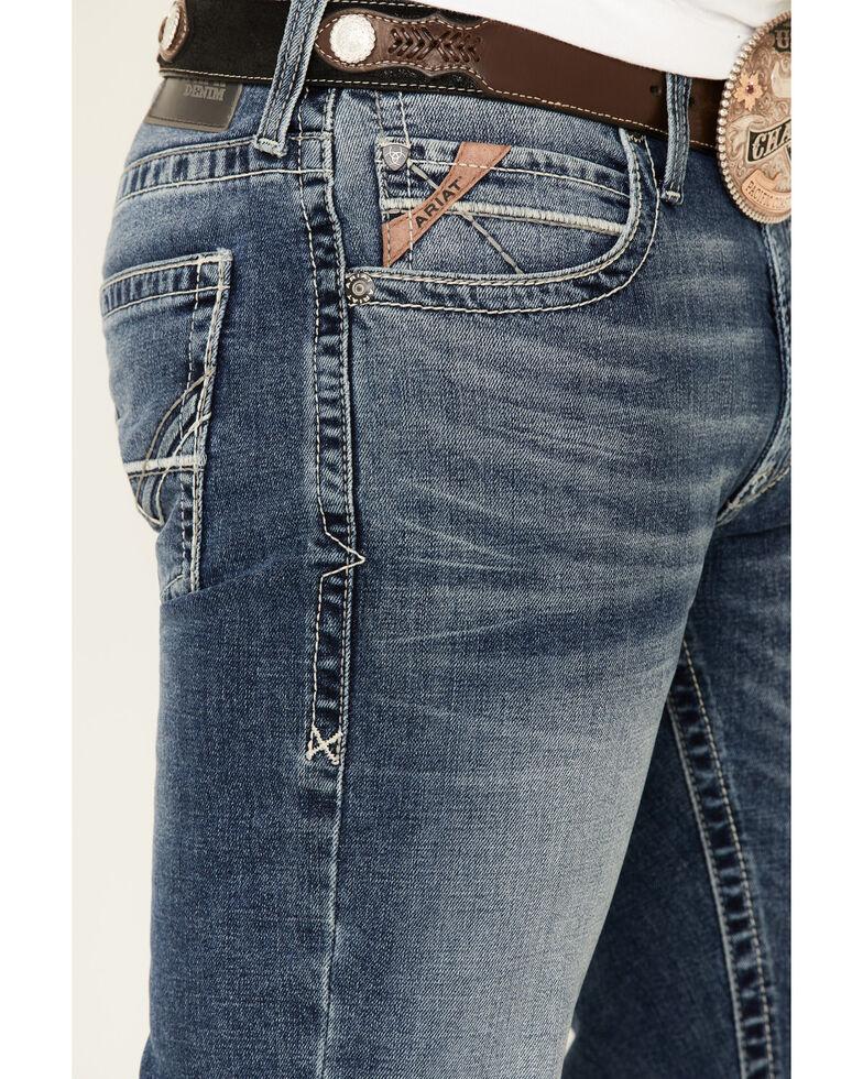Ariat Men's M5 Samwell Harper Stretch Stackable Slim Straight Jeans , Blue, hi-res