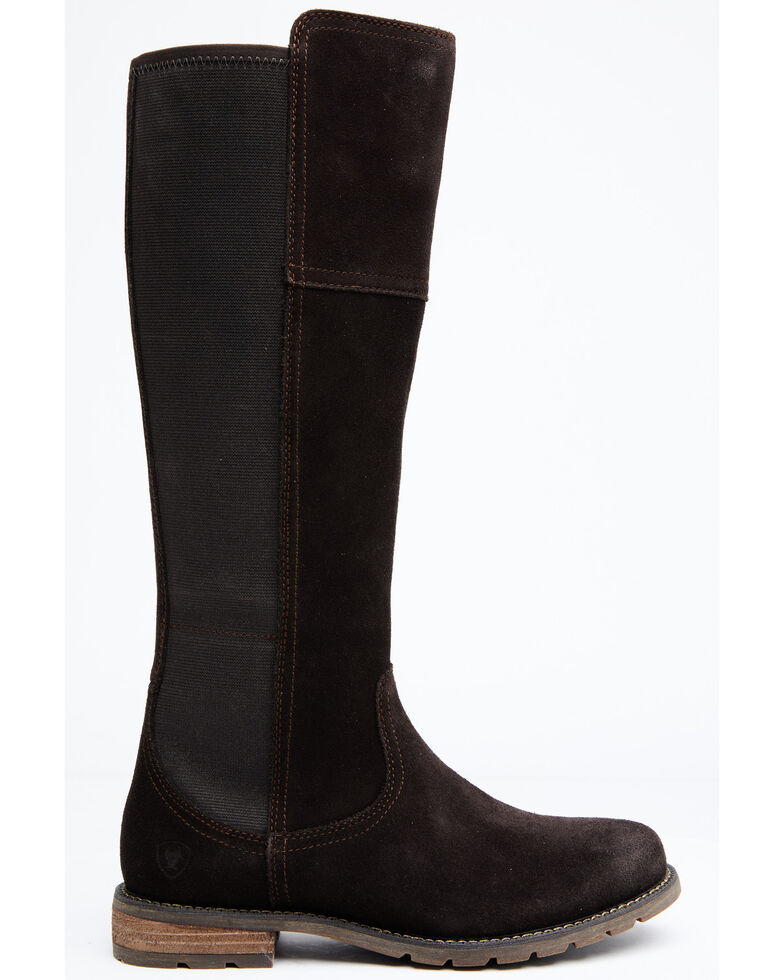 Ariat Women's Chocolate Sutton H20 Boots - Round Toe , Chocolate, hi-res