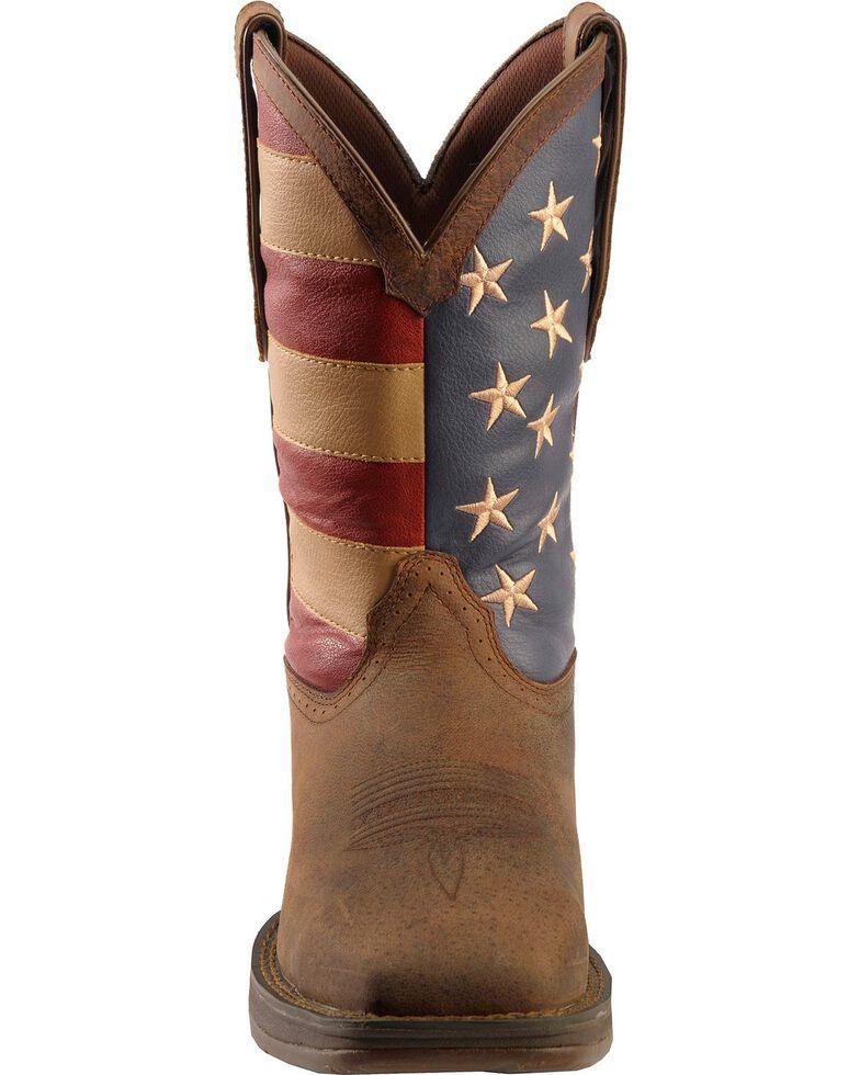 60233e9991c Durango Rebel Men s American Flag Cowboy Boots - Steel Toe - Country ...