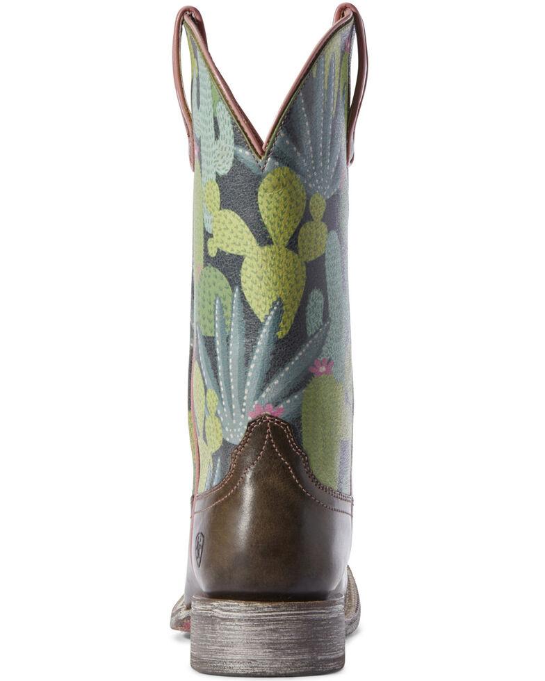 Ariat Women's Circuit Savanna Desert Western Boots - Wide Square Toe, Brown, hi-res