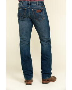 Wrangler Retro Men's Krum Stretch Slim Straight Jeans , Blue, hi-res