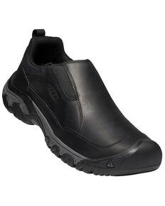 Keen Men's Magnet Black Targhee III Casual Slip-On Hiking Shoe , Black, hi-res