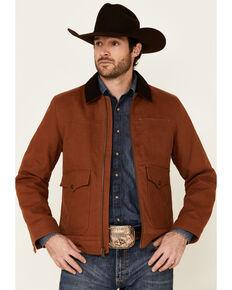 Pendleton Men's Whiskey Carson City Canvas Zip-Front Barn Coat , Cognac, hi-res