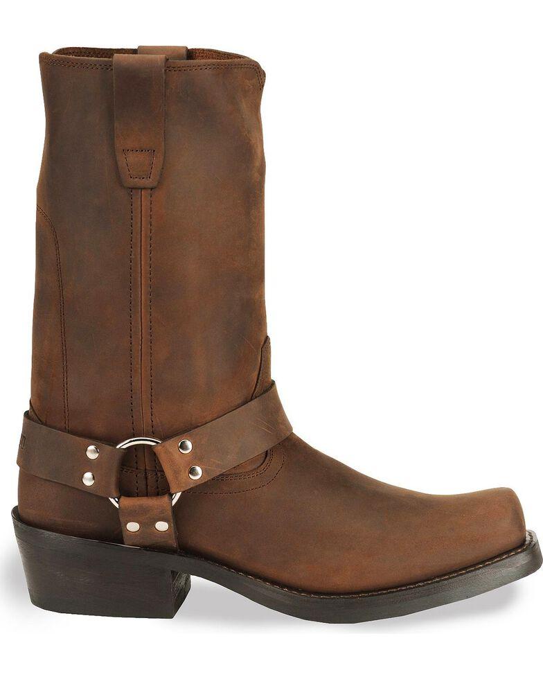 Durango Men's Harness Boots - Square Toe, Distressed, hi-res