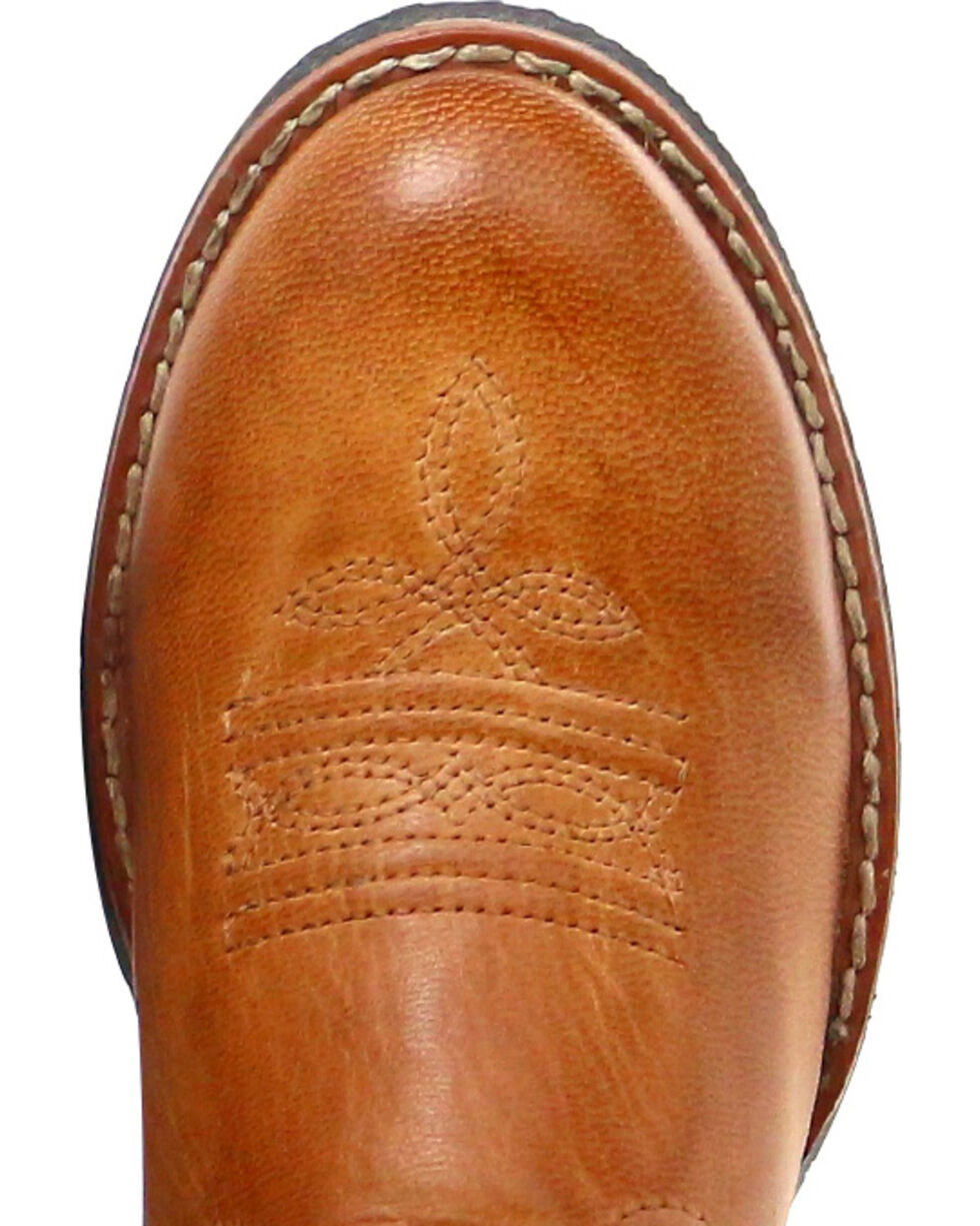 Cody James Boy's Showdown Western Boots - Round Toe, Tan, hi-res