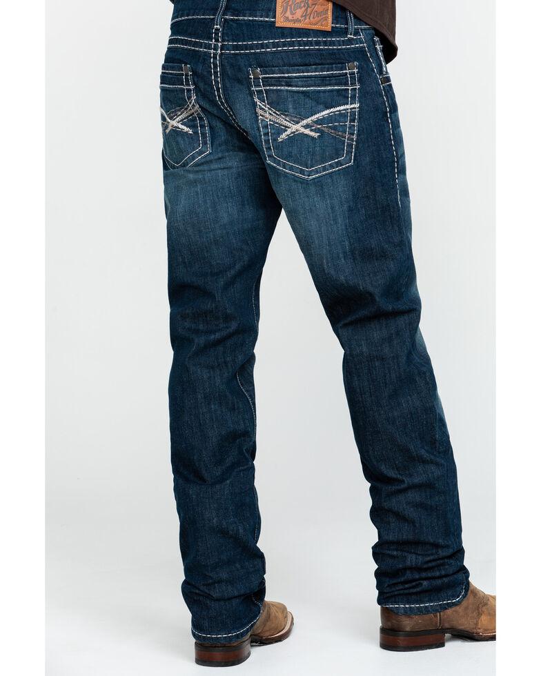 Rock 47 By Wrangler Men's Acoustic Slim Straight Jeans , Blue, hi-res
