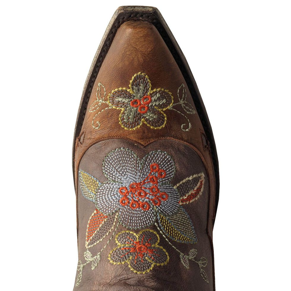 Old Gringo Ultra Vintage Bonnie Cowgirl Boots - Snip Toe, Chocolate, hi-res