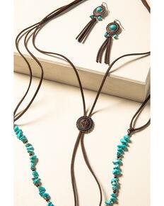 Shyanne Women's Willow Moon Bolo Tassel Set , Rust Copper, hi-res