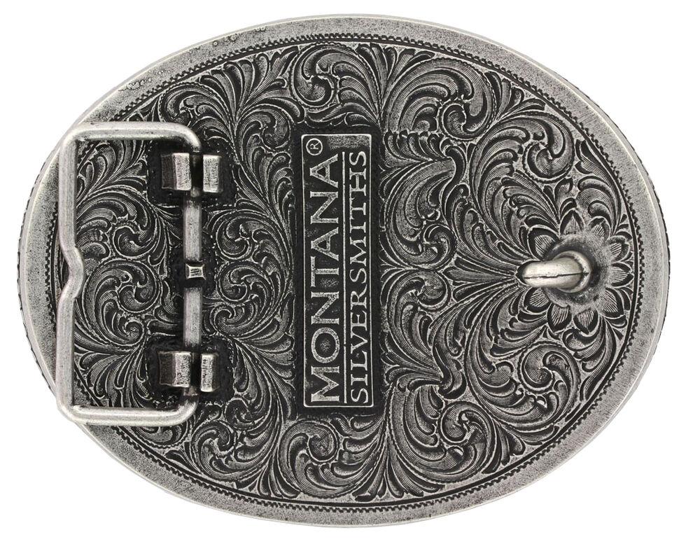 Montana Silversmiths Prize Pig Classic Impressions Attitude Belt Buckle, Multi, hi-res