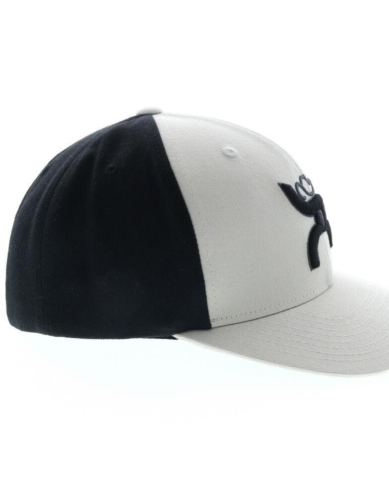 HOOey Men's Hawk Logo Ball Cap , White, hi-res