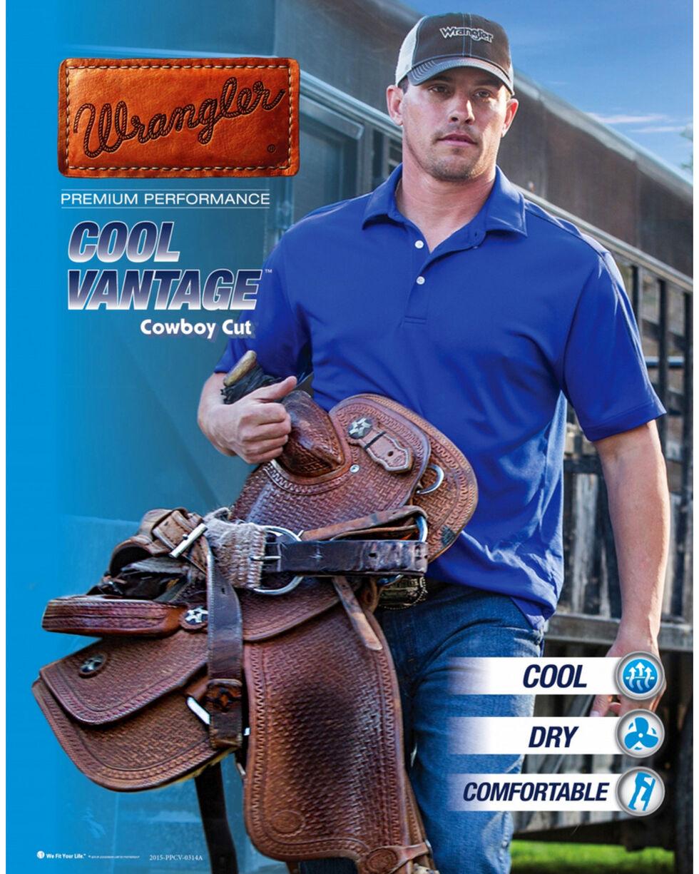 Wrangler Cool Vantage 36 Dark Stonewash Jeans - Slim Fit - Big & Tall, Light Stone, hi-res