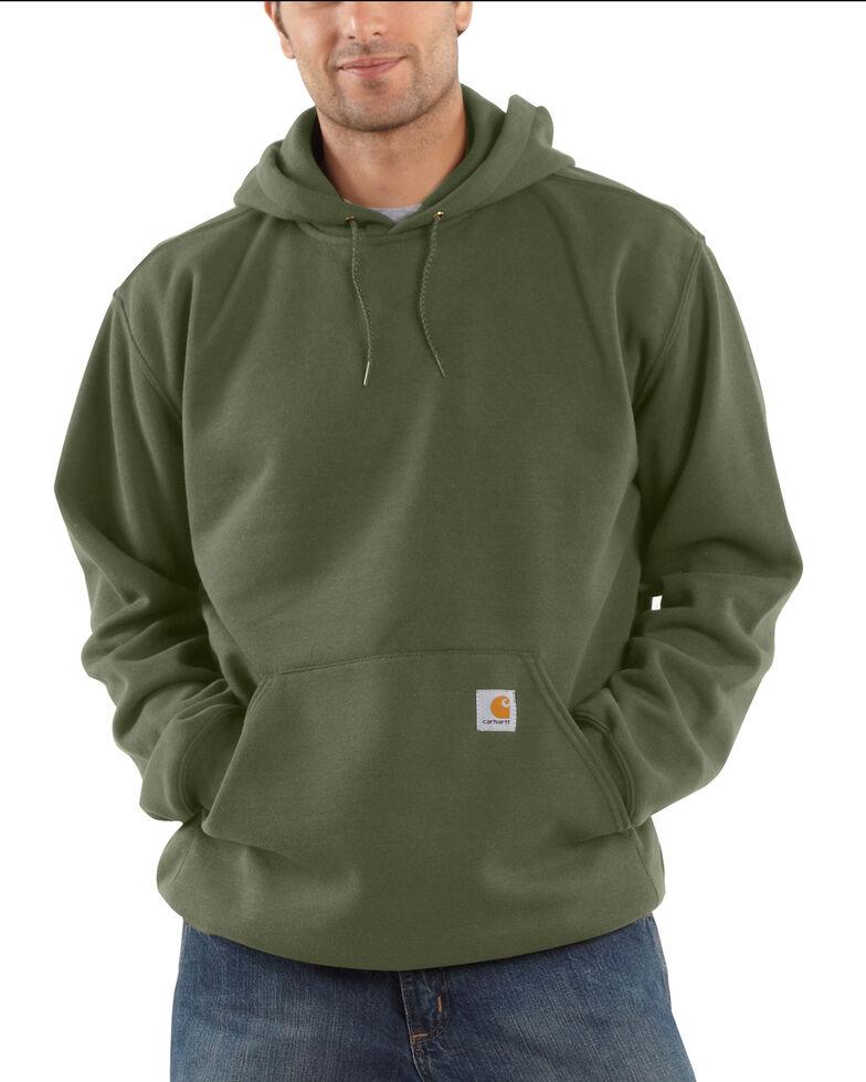 Carhartt Hooded Sweatshirt - Big & Tall, Moss Green, hi-res