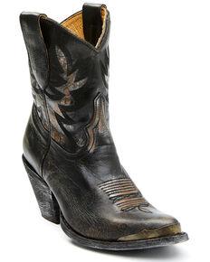 Idyllwind Women's Wheels Western Booties - Round Toe, Black, hi-res