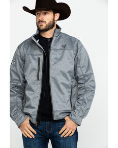 Cowboy Hardware Men's Tech Woodsman Jacket , Heather Grey, hi-res