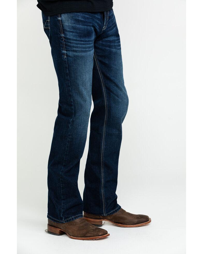 Ariat Men's M7 Salton Rocker Low Stackable Slim Straight Jeans , Blue, hi-res