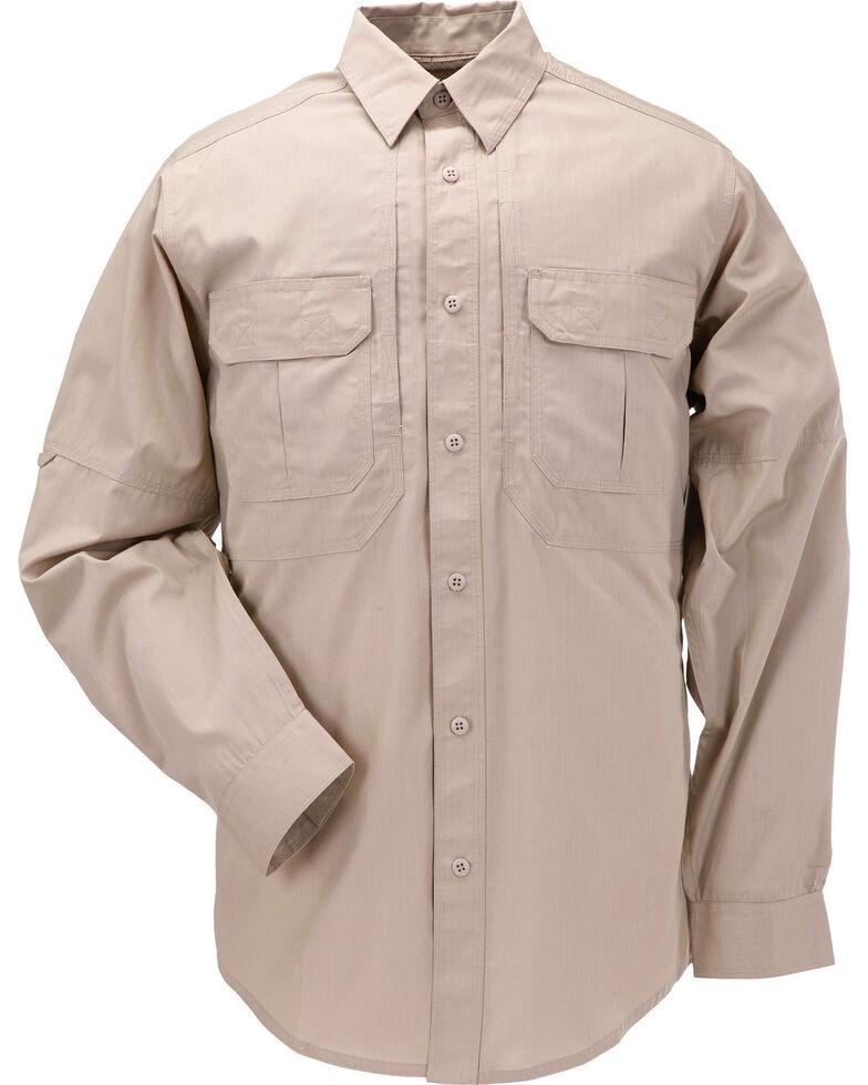 5.11 Tactical Taclite Pro Long Sleeve Shirt - 3XL, Khaki, hi-res