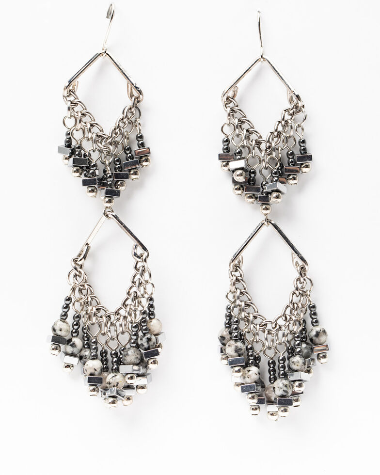 Idyllwind Women's Half Way There Drop Earrings, Silver, hi-res