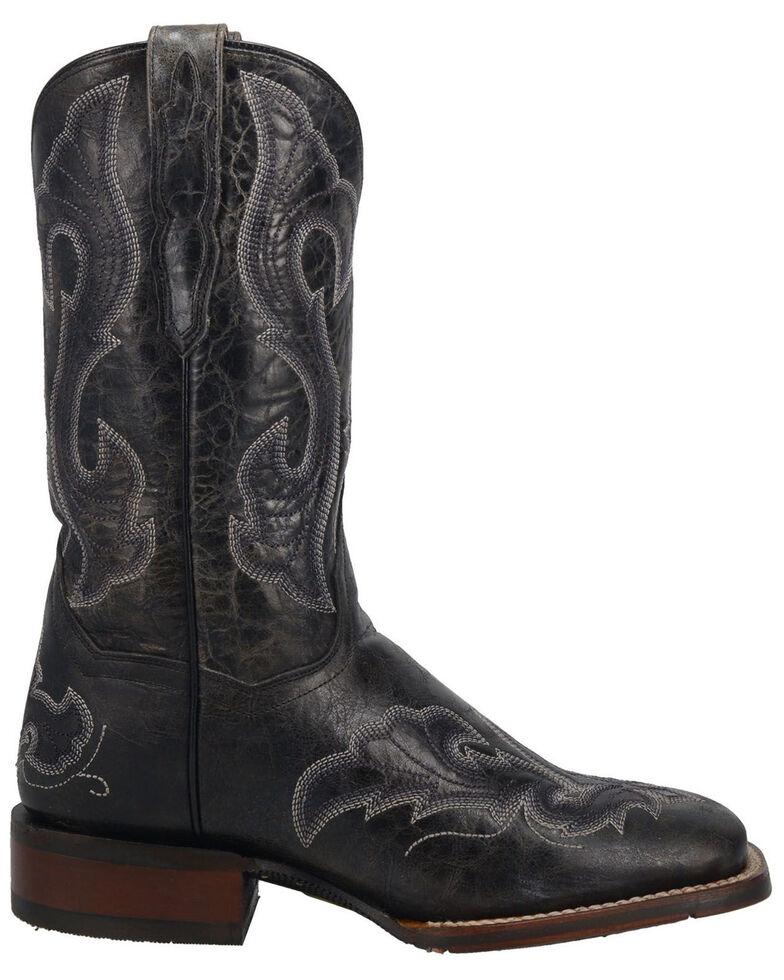 Dan Post Women's Everlyn Western Boots - Wide Square Toe, Black, hi-res