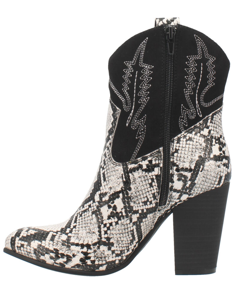 Code West Women's Slayer Fashion Booties - Round Toe, Black, hi-res