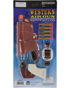 Parris Western Suction Cup Air Gun, No Color, hi-res