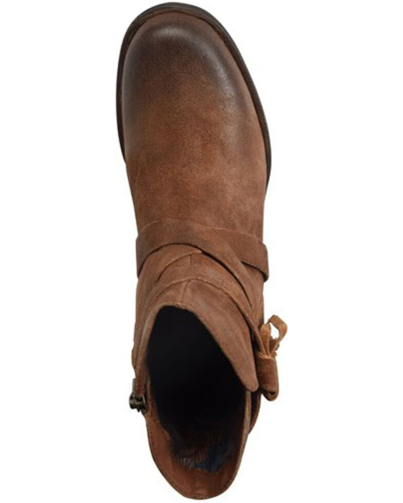 Born Women's Perl Fashion Booties - Round Toe, Rust Copper, hi-res