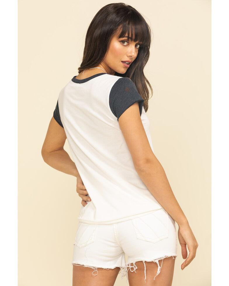 Shyanne Women's Just Country Music Raglan Shirt, Ivory, hi-res