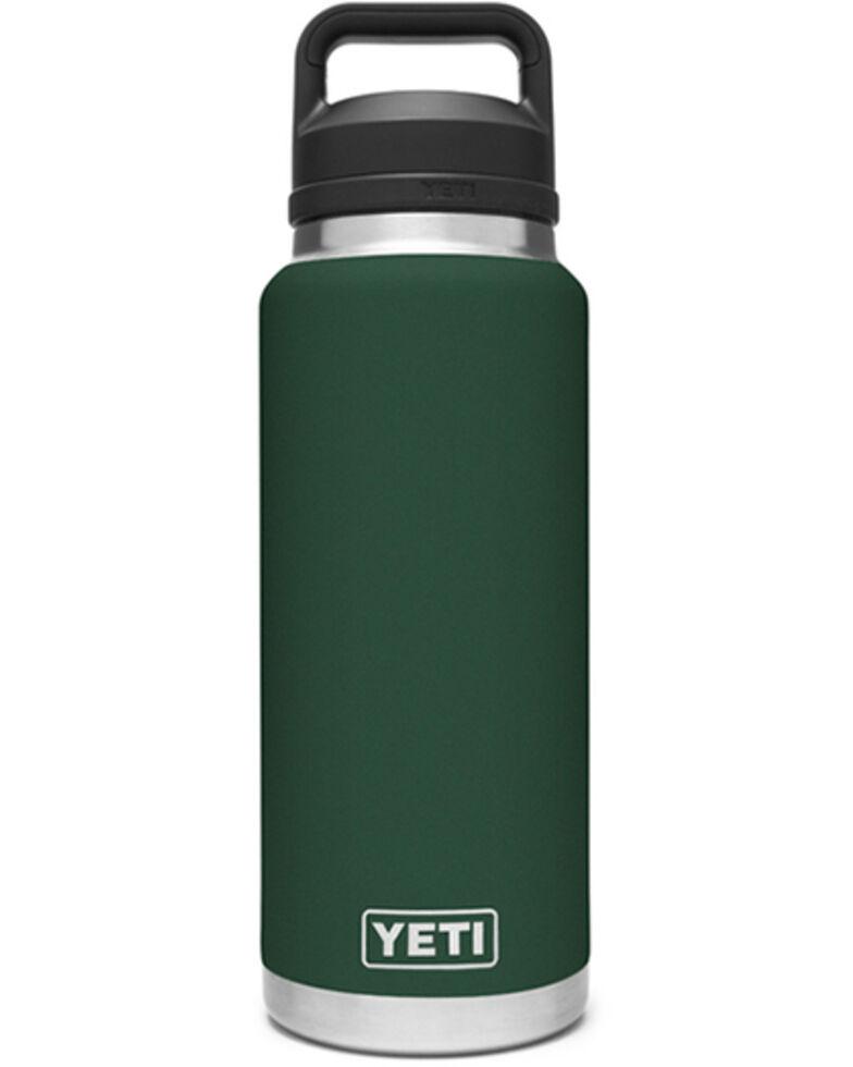 Yeti Rambler 36oz Green Chug Bottle, Dark Green, hi-res