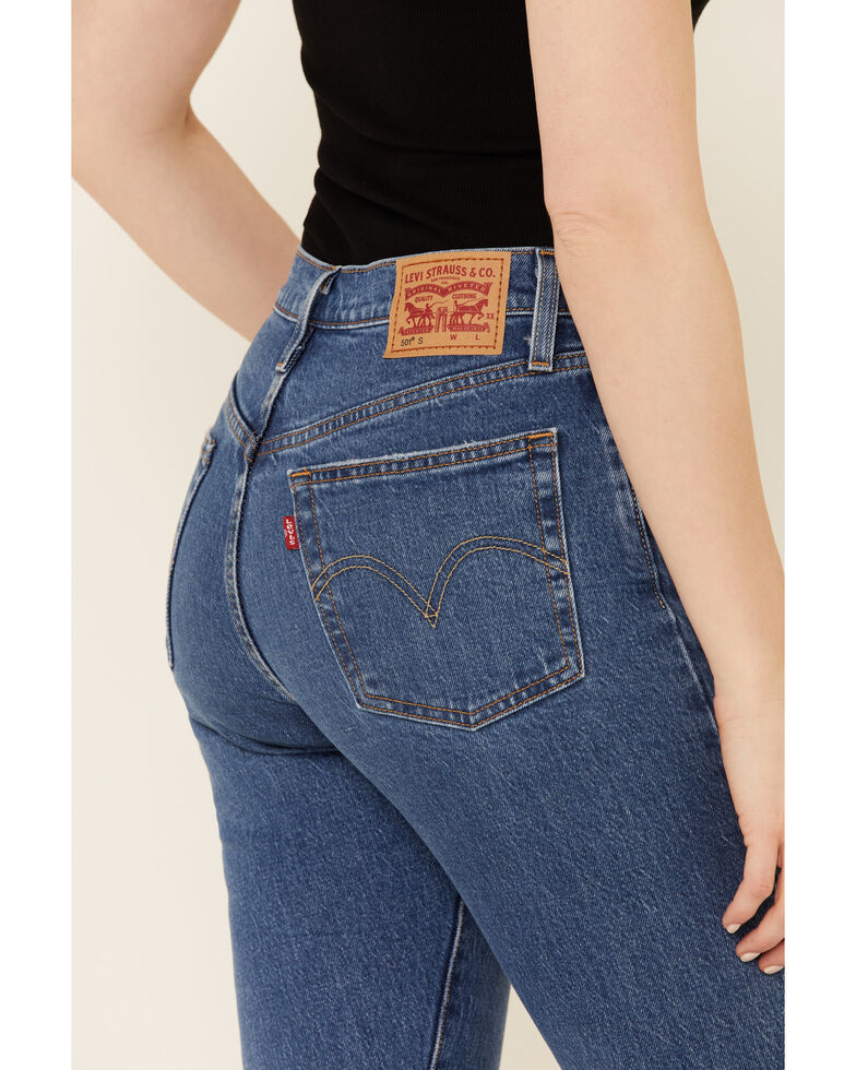 Levi's Women's 501 Jive Tides Skinny Jeans, Blue, hi-res