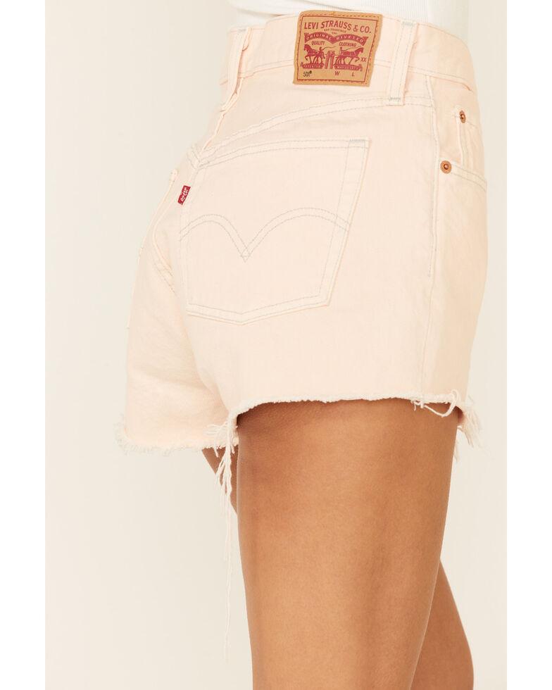 Levi's Women's 501 You're A Peach Shorts, Peach, hi-res