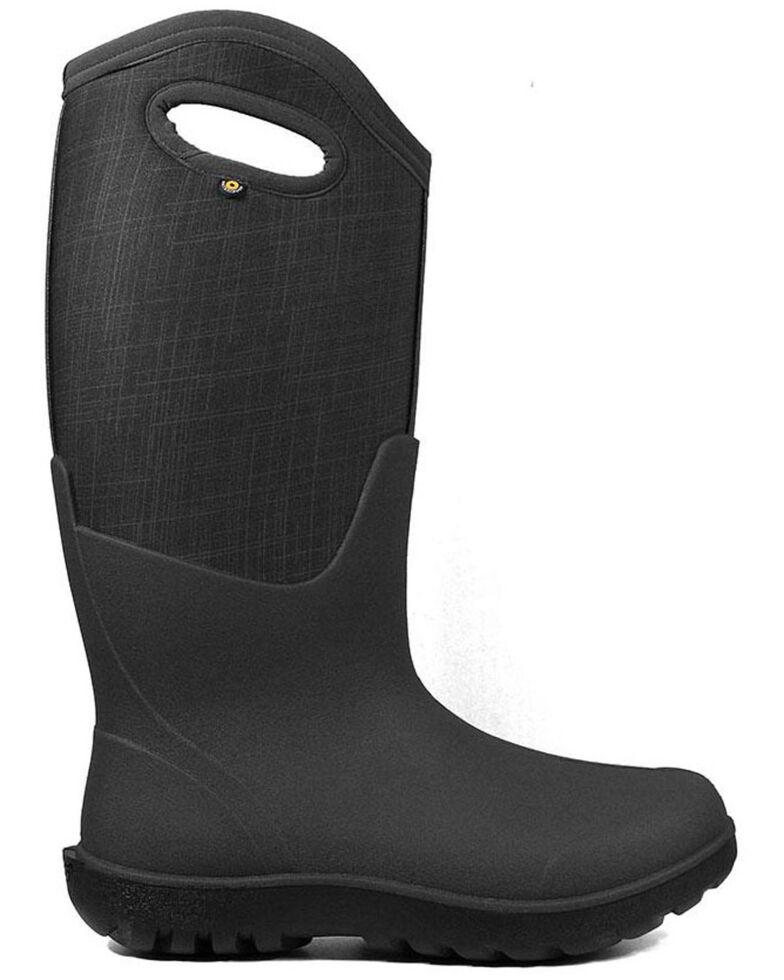 Bogs Women's Neo-Classic Farm Boots - Round Toe, Black, hi-res